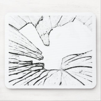 shattered mouse mat