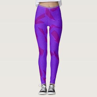 Shattered Purple Leggings