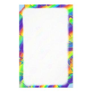 Shattered Rainbow Stationery
