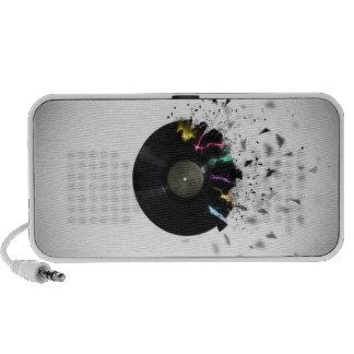 Shattered Record Doodle Speaker