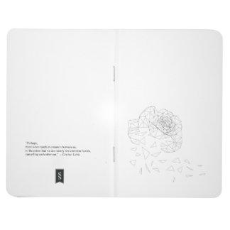 Shattered Rose Triangulation Mood Journal