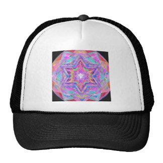 Shatters crystal star. trucker hat