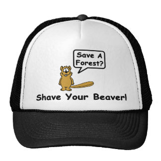 Shave A Forest? Cap