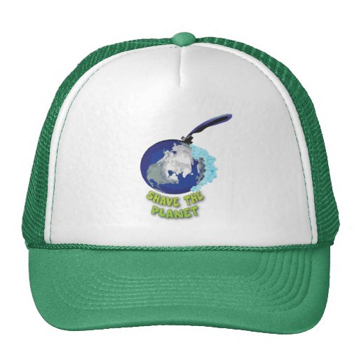 shave the planet trucker hats
