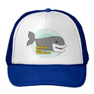 Shave the Whales Mesh Hats