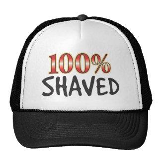 Shaved 100 Percent Hats