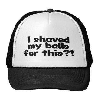 Shaved Balls Trucker Hat