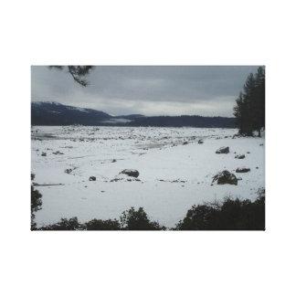 Shaver Lake Californina Canvas Print