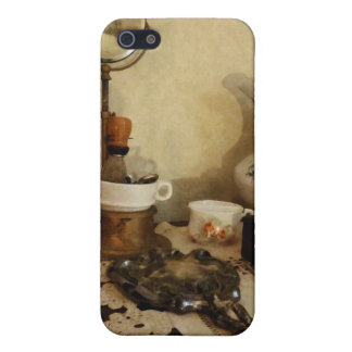 Shaving Brush, Mug and Mirror Cases For iPhone 5