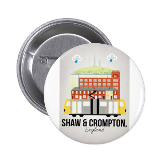 Shaw and Crompton 6 Cm Round Badge
