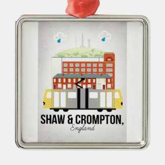 Shaw and Crompton Christmas Ornament