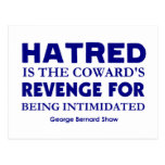 Shaw on Hatred
