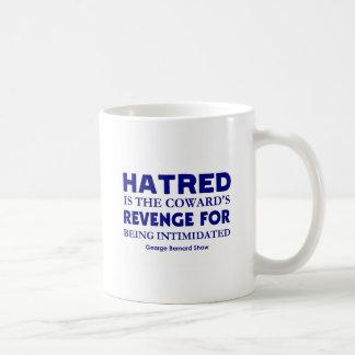 Shaw on Hatred Basic White Mug