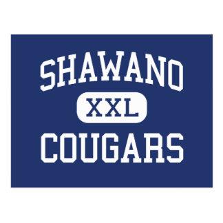 Shawano Cougars Community Shawano Wisconsin Postcard