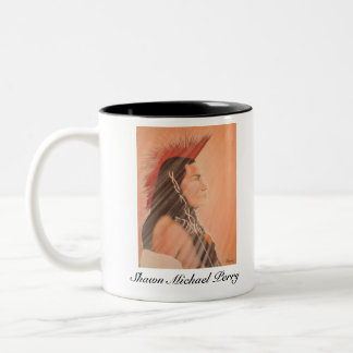 Shawn Michael Perry Limited Edition Two-Tone Coffee Mug