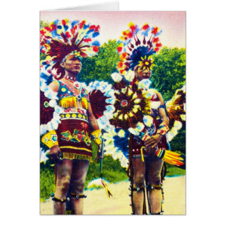 Shawnee Indian War Dancers Oklahoma Greeting Card