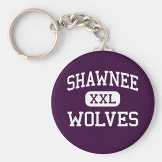 Shawnee - Wolves - High School - Shawnee Oklahoma Key Ring