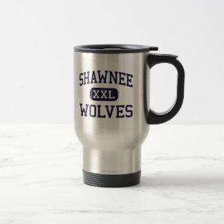 Shawnee - Wolves - High School - Shawnee Oklahoma Travel Mug
