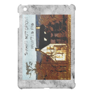 [Shawn's] Notorious Haunted iPad Case