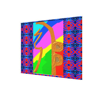 SHAY-HAY-KEY Reiki Healing Symbol Canvas Print