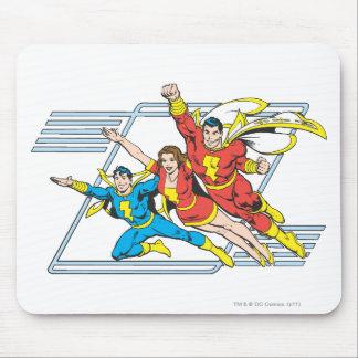 SHAZAM Family Mousepad