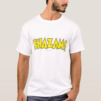 Shazam Logo Yellow T-Shirt