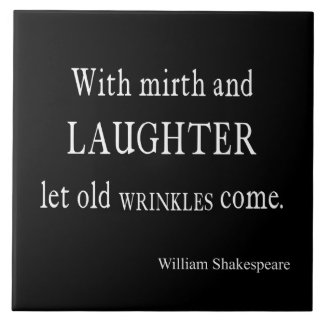 She Be But Little She is Fierce Shakespeare Quote Tiles