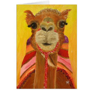 She-Camel Suzie Greeting Card