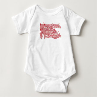 She-Devil baby Baby Bodysuit