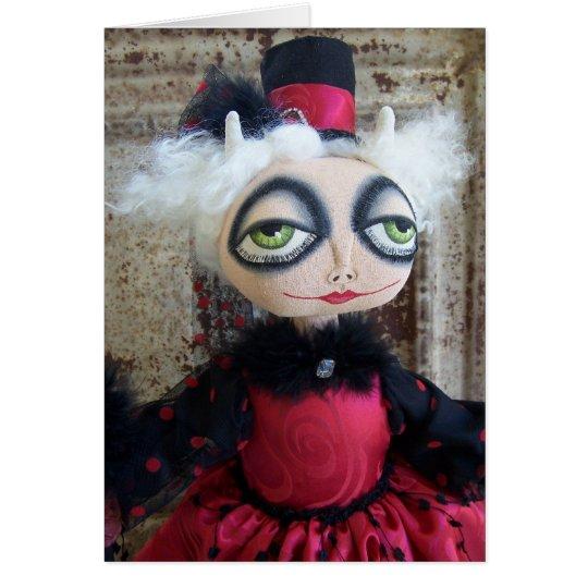 She Devil Valentine's Day Card