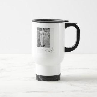 She drives a Duesenberg Coffee Mug