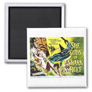 """""""She Gods of Shark Reef"""" Magnet"""