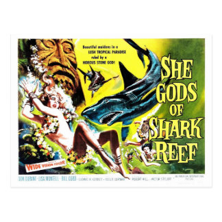 """She Gods of Shark Reef"" Postcard"