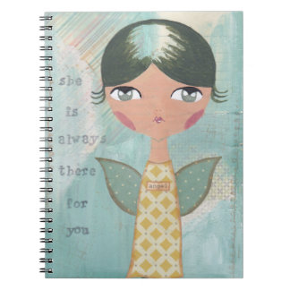 She is always there for you note books