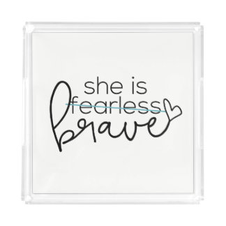 She is BRAVE Perfume Tray