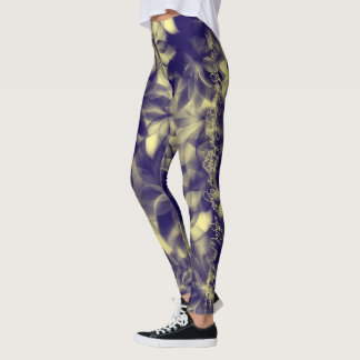 """She is clothed in strength and dignity"" leggings"