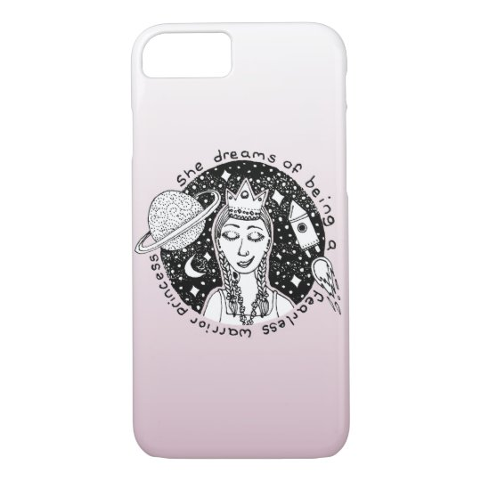 She is Fearless Feminist Phone Case