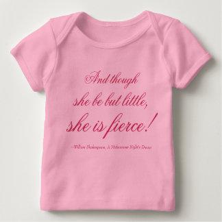 She is fierce! baby T-Shirt