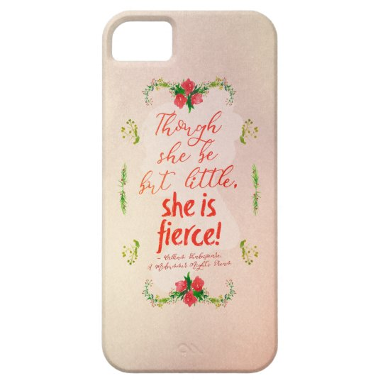 She is Fierce Case For The iPhone 5