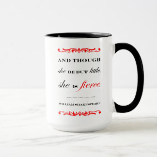 She is Fierce (look on the other side!) Mug
