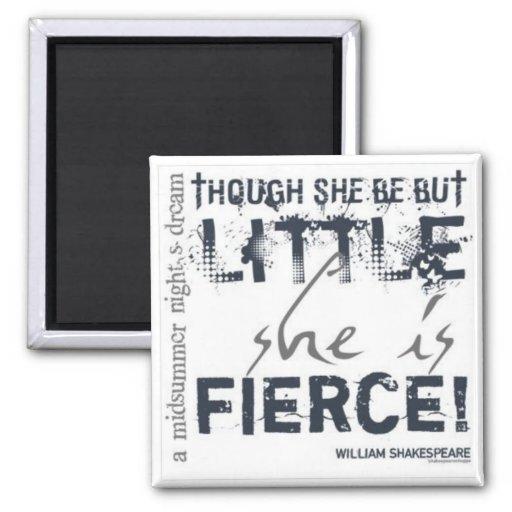 She Is Fierce Fridge Magnet