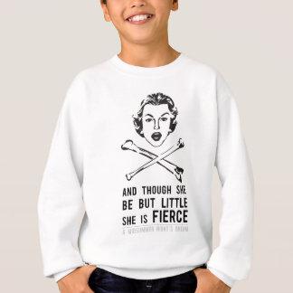 She is Fierce - Punk Sweatshirt