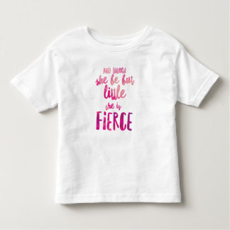 She is Fierce Toddler Fine Jersey T-Shirt