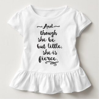She is Fierce Toddler T-Shirt
