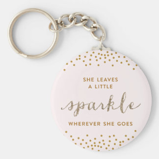 She Leaves a little Sparkle™ Key Chain