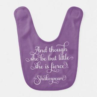 She may be little, but she is fierce. Shakespeare Bib