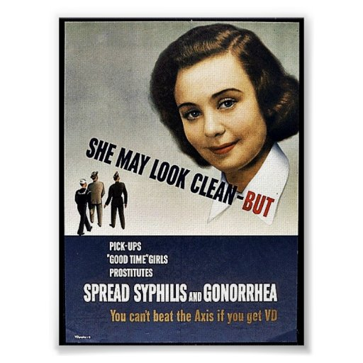 She May Look Clean - But Posters