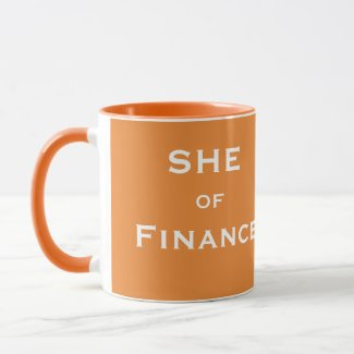 She of Finance Funny Female CFO Accountant Name