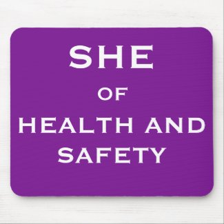 She of Health and Safety Funny Joke Job Title