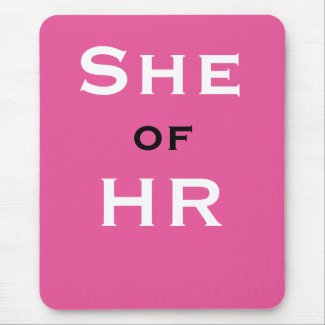 She of HR Funny Female Human Resources Joke Name